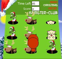 Hamster Game :: Hit the Grinch